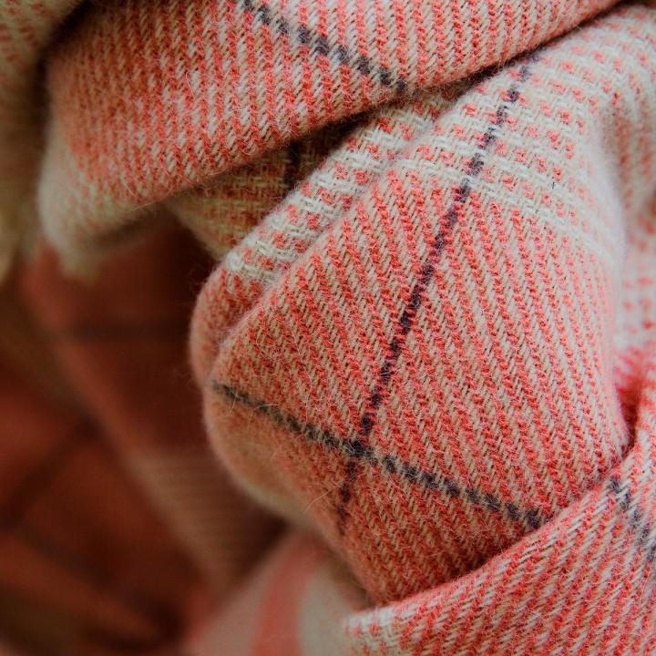 Wool Throw Canyon Rose Luigi