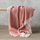 Canyon Rose Wool Throw Roberto