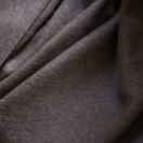 Brown Baby Alpaca Throw Bella
