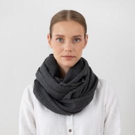 Pure Merino Wool Scarf Luciano Grey