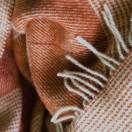 Wool Throw Terra Cotta Luigi