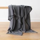 Cashmere Wool Throw Grey Salvatore