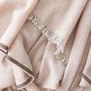 Cashmere Wool Throw Rosa Salvatore
