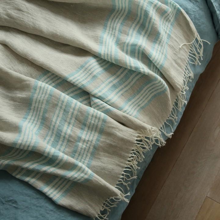 Natural Linen Throw Felix