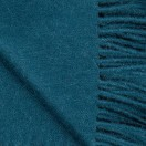 Teal Green Baby Alpaca Throw Bella