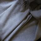 Silver Baby Alpaca Throw Bella