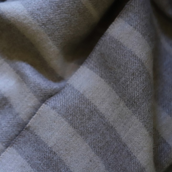 Greys Baby Alpaca Throw Bella Stripes