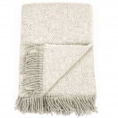 Silver Wool Throw Sergio