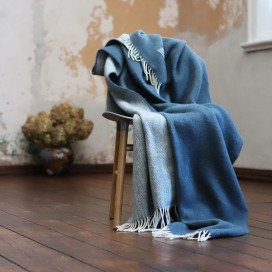 Indigo Wool Throw Roberto