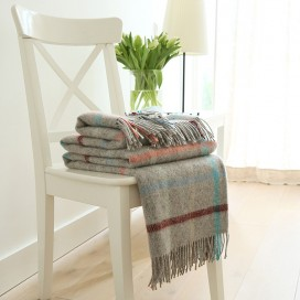 Multicolor Wool Throw Antonio
