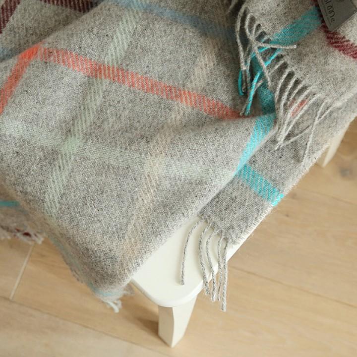 Multicolor Wool Throw Antonio