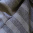 Greys Baby Alpaca Throw Bella Stripes