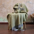 Gold Wool Throw Sergio