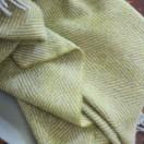 Gold Wool Throw Sergio