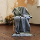 Grey Gold Wool Throw Federico