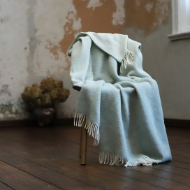Sage Wool Throw Roberto