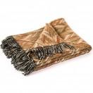 Merino Wool Throw Brown Marcello