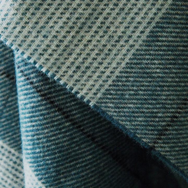 Wool Throw Indigo Luigi