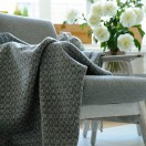 Wool Throw Grey Tito