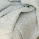 Grey Pure New Wool Throw Ottavio