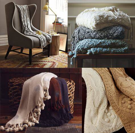 Wool Throws Blankets