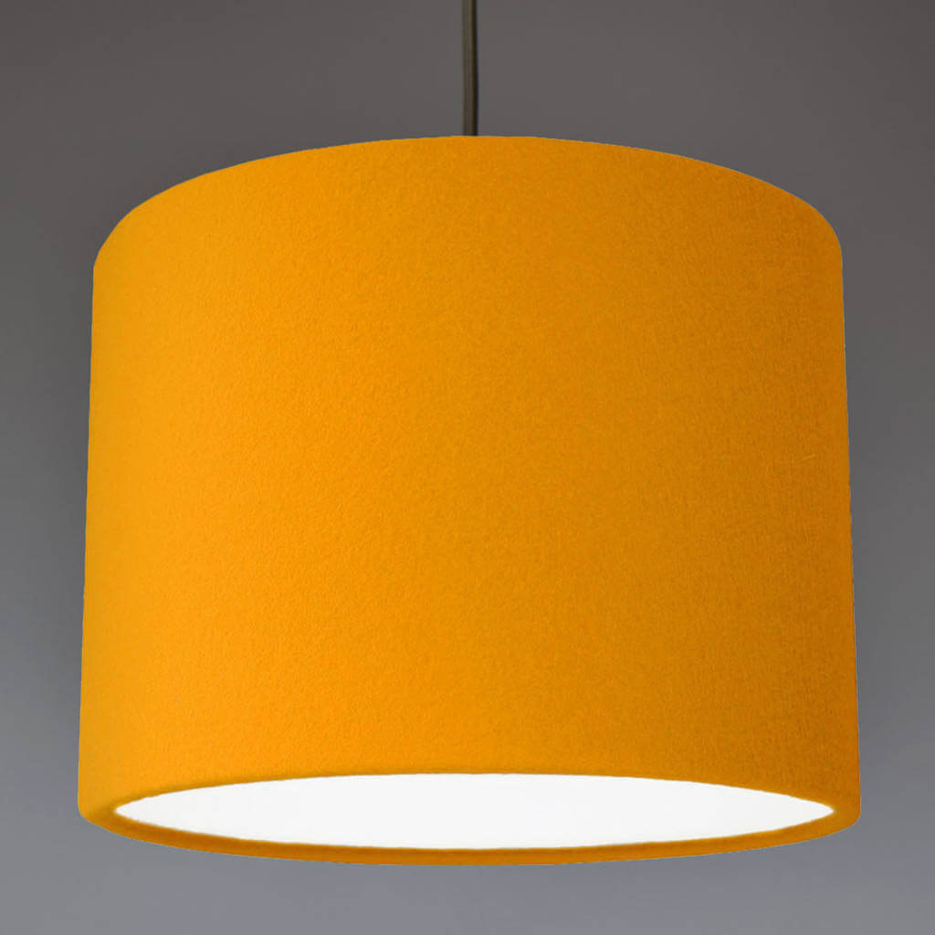 wool lampshade