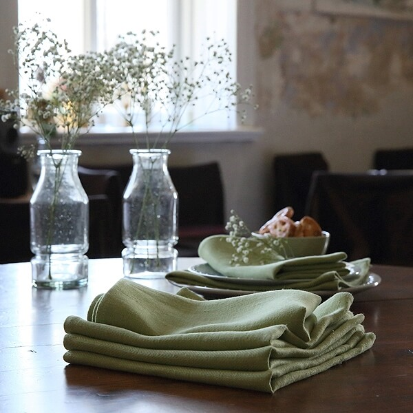 linen napkins picnic