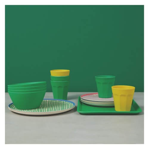 bamboo picnic bowls