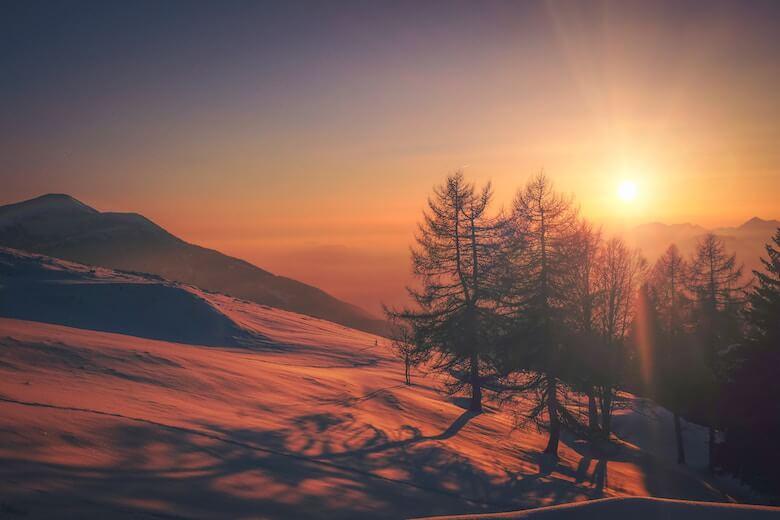sunrise new years eve