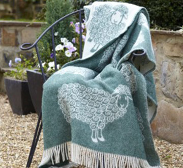 How to Care for Wool Throws